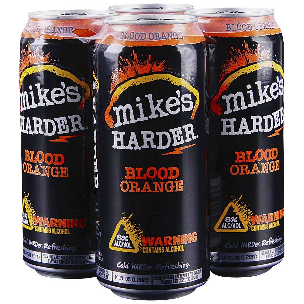 Applejack Mikes Hard Blood Orange 4pk 16 Oz Cans