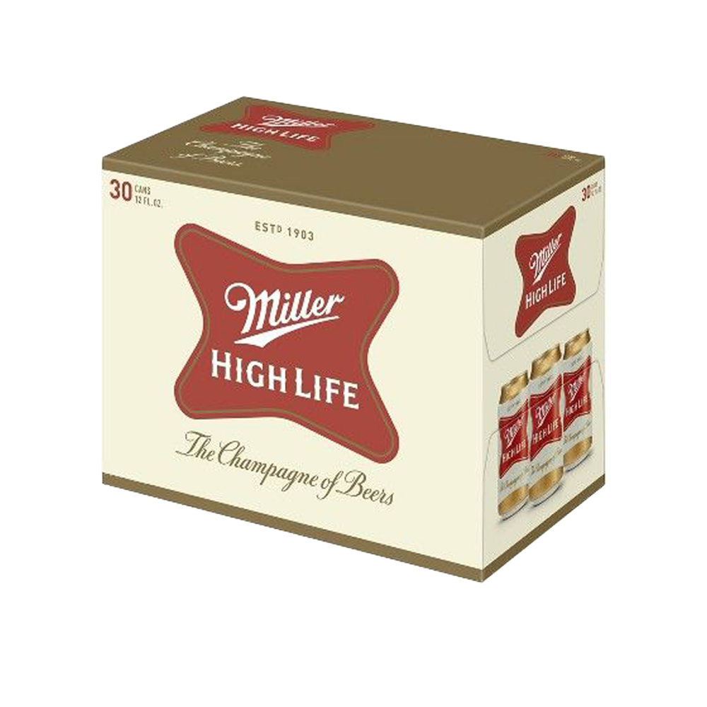 Miller High Life 30pk 12 oz Cans