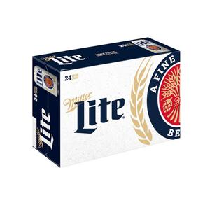 Miller Lite Suitcase 24pk 12 oz Cans