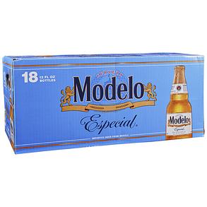 Modelo Especial 18pk 12 oz Bottles