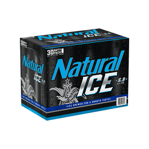 Natural Ice 30pk 12 oz Cans