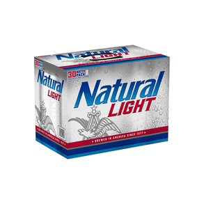 Natural Light 30pk 12 oz Cans