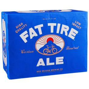 New Belgium Fat Tire Amber 12pk 12 oz Cans