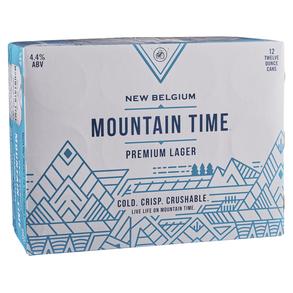 New Belgium Mountain Time 12pk 12 oz Cans