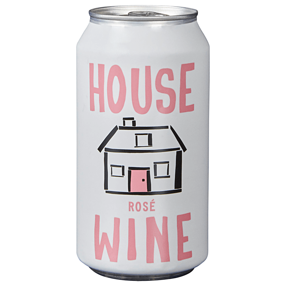 House Wine Rose Can 375 ml