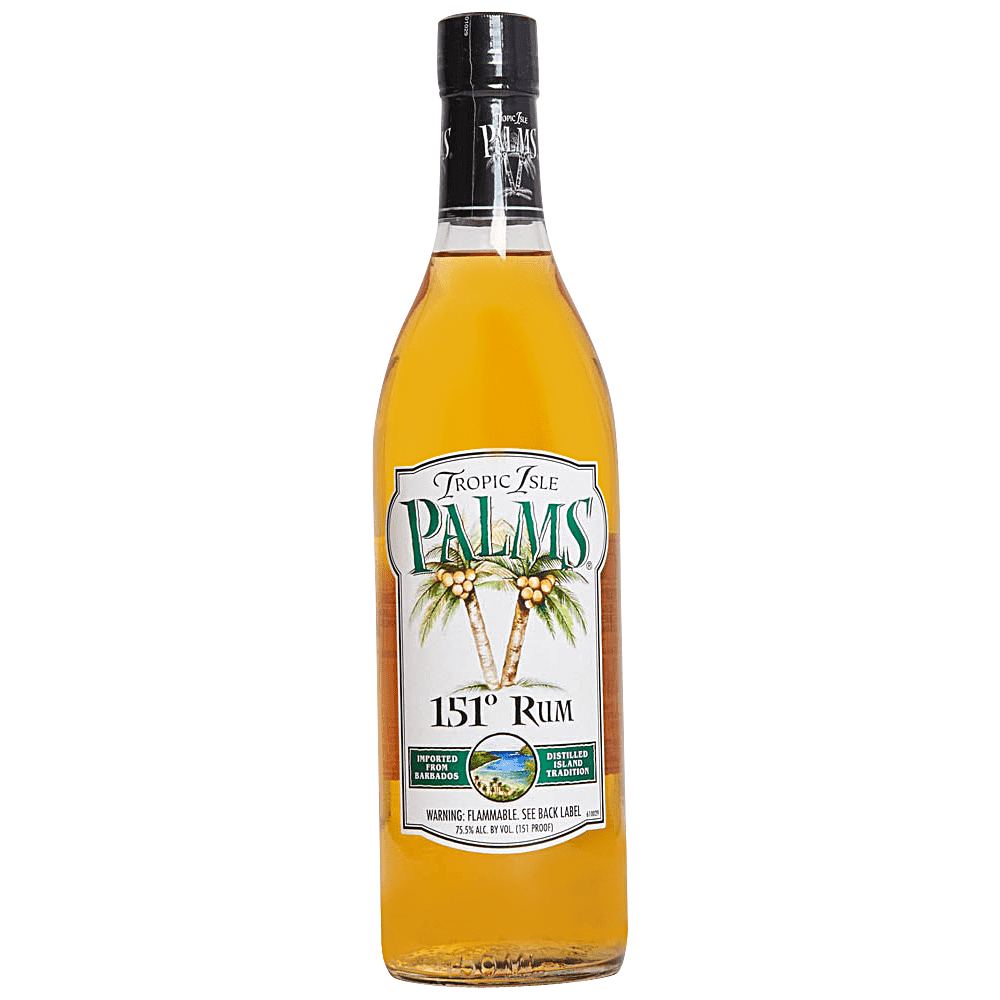 Tropic Isle Palms 151 Proof Rum 750 ml