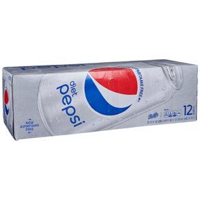 Pepsi Diet 12pk 12 oz Cans