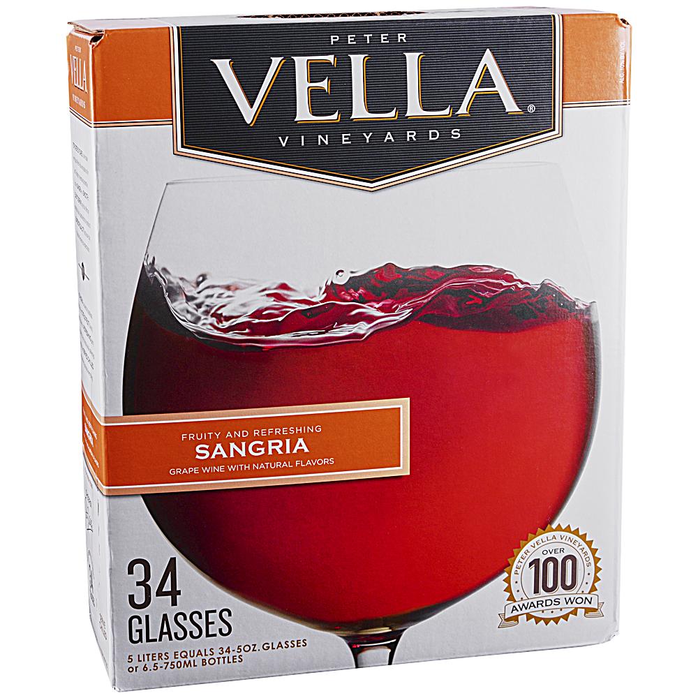 Peter Vella Sangria Box 5.0 L