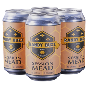 Randy Buzz Feisty Ginger Mead 4pk 12 oz Cans