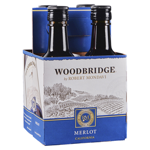 Robert Mondavi Merlot Woodbridge 4 pack 187 ml