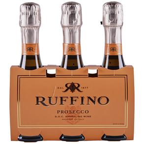 Ruffino Prosecco 3 pack 187 ml