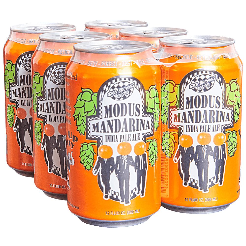 ska modus mandarina ipa 6pk 12 oz cans applejack rh applejack com