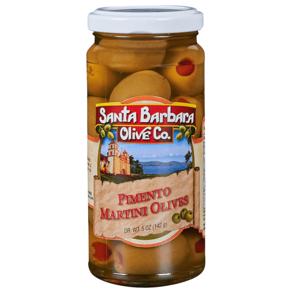 Santa Barbara Pimento Martini Olive 5 oz