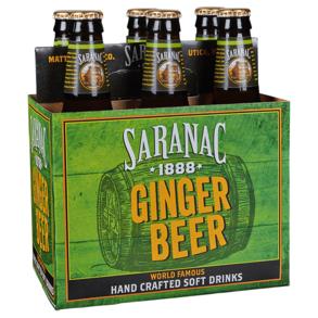 Saranac Ginger Beer 6pk 12 oz