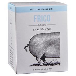 Scarpetta Frizzante Frico Can 4 pack 187 ml