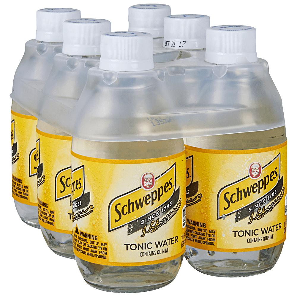 Schweppes Tonic 6pk 10 oz Btls