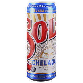 Sol Chelada 24 oz Can