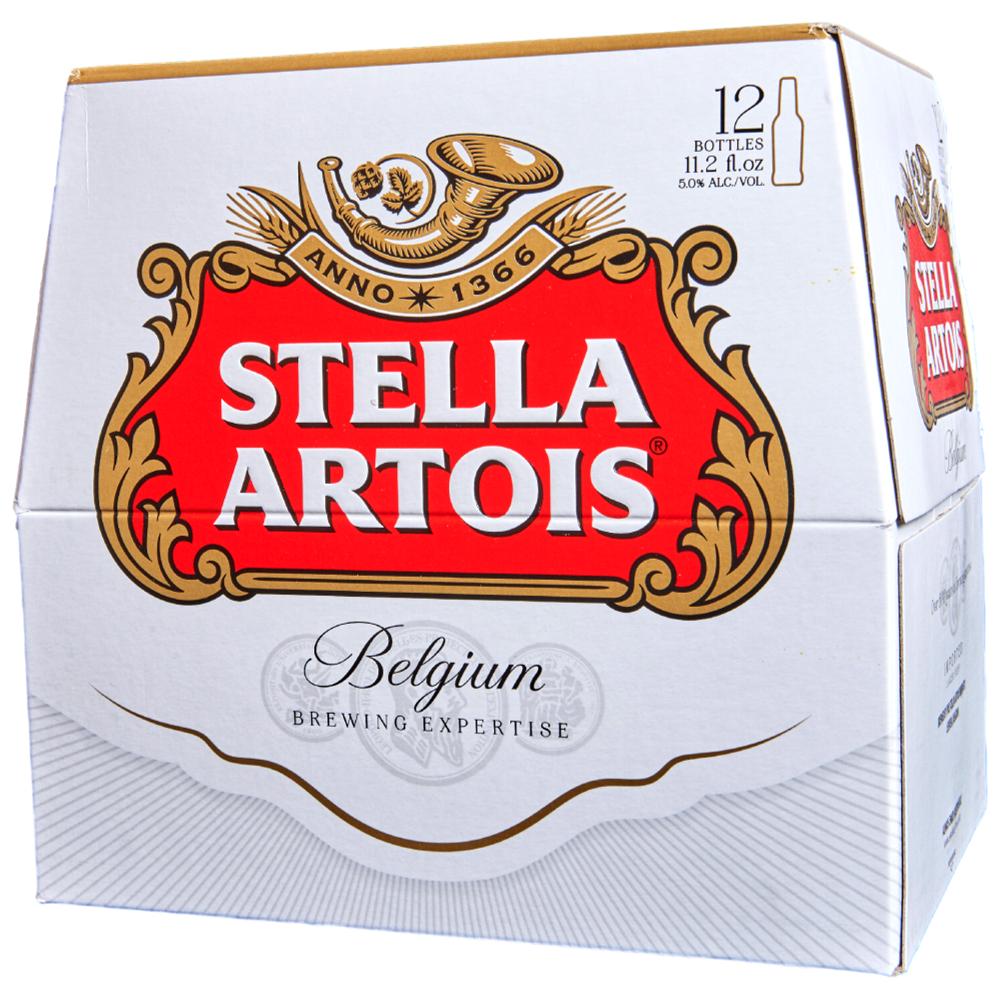 Stella Artois 12pk 11 oz Bottles
