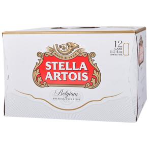 Stella Artois 12pk 11 oz Cans