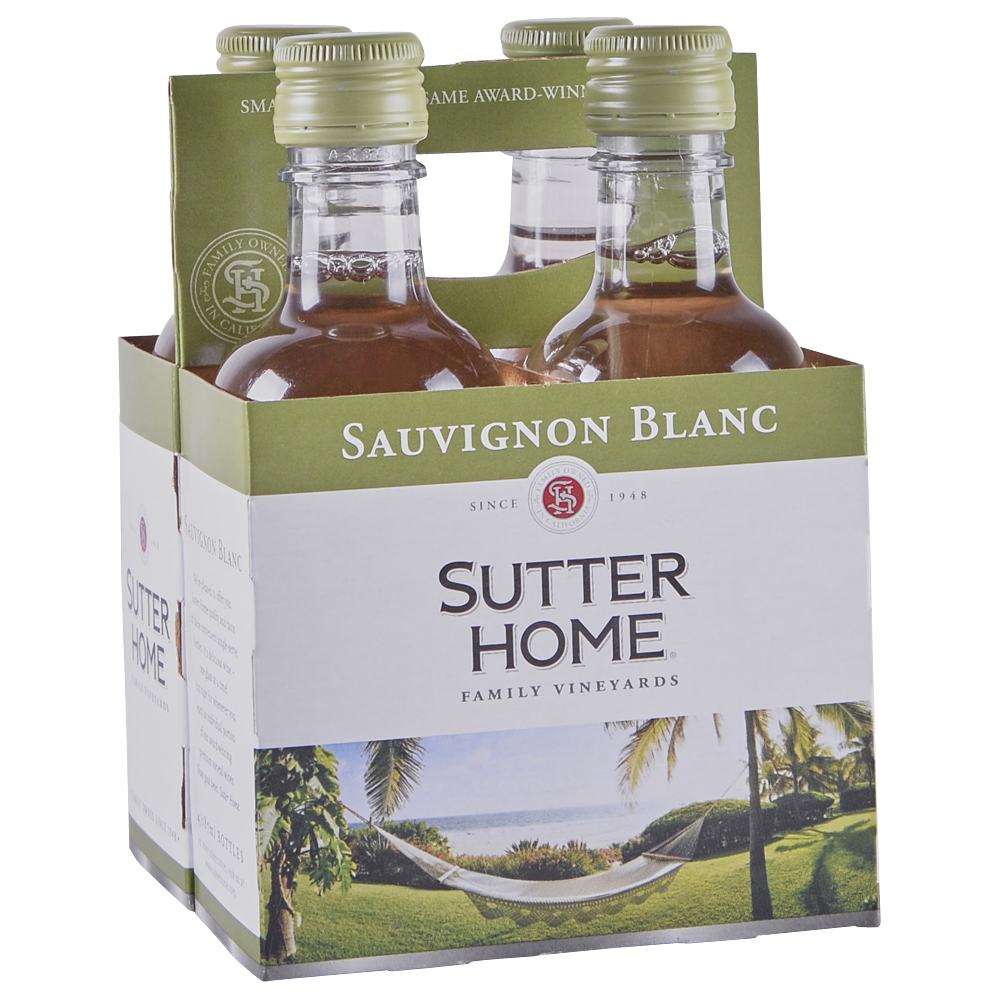 Sutter Home Sauvignon Blanc 4 pack 187 ml