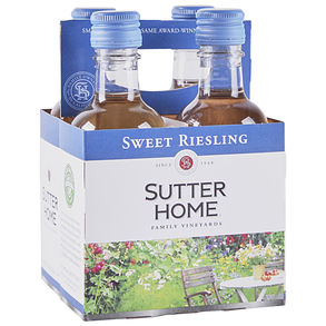 Sutter Home Sweet Riesling 4 pack 187 ml