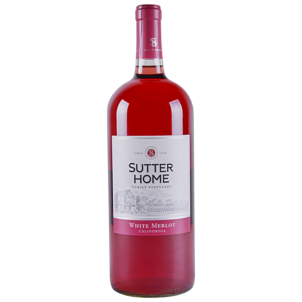 Applejack Sutter Home White Merlot 1 5 L