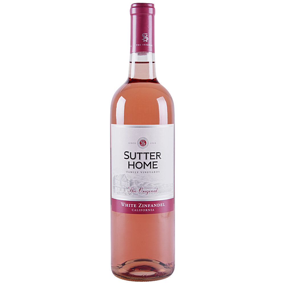 Sutter Home White Zinfandel 750 ml
