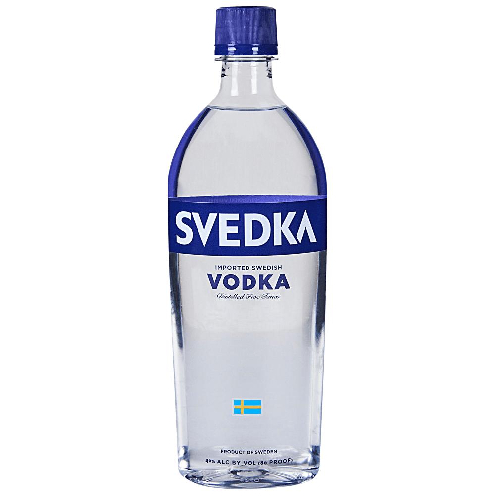 Svedka Vodka 750 ml Plastic Bottle