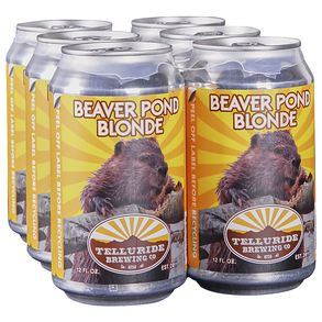 Telluride Beaver Pond Blonde 6pk 12 oz Cans