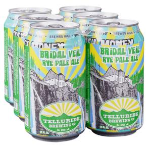 Telluride Bridal Veil Rye Pale Ale 6pk 12 oz Cans