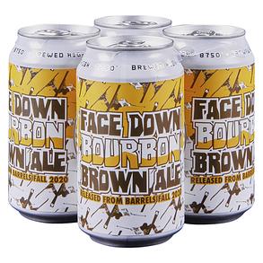Telluride Face Down Bourbon Brown 4pk 12 oz Cans