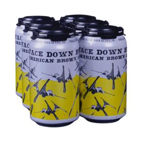 Telluride Face Down Brown 6pk 12 oz Cans
