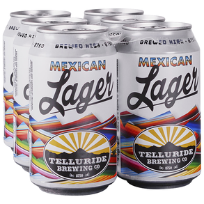 Telluride Mexican Lager 6pk 12 oz Cans