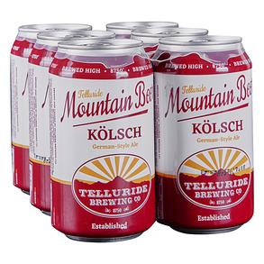 Telluride Mountain Beer Kolsch 6pk 12 oz Cans