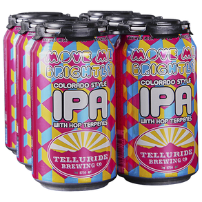 Telluride Move Me Brightly IPA 6pk 12 oz Cans