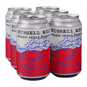 Telluride Russ Kelly Mosaic IPA 6pk 12 oz Cans