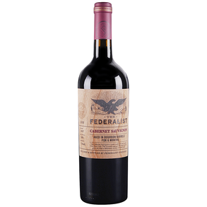 The Federalist Cabernet Sauvignon Bourbon Barrels 750 ml
