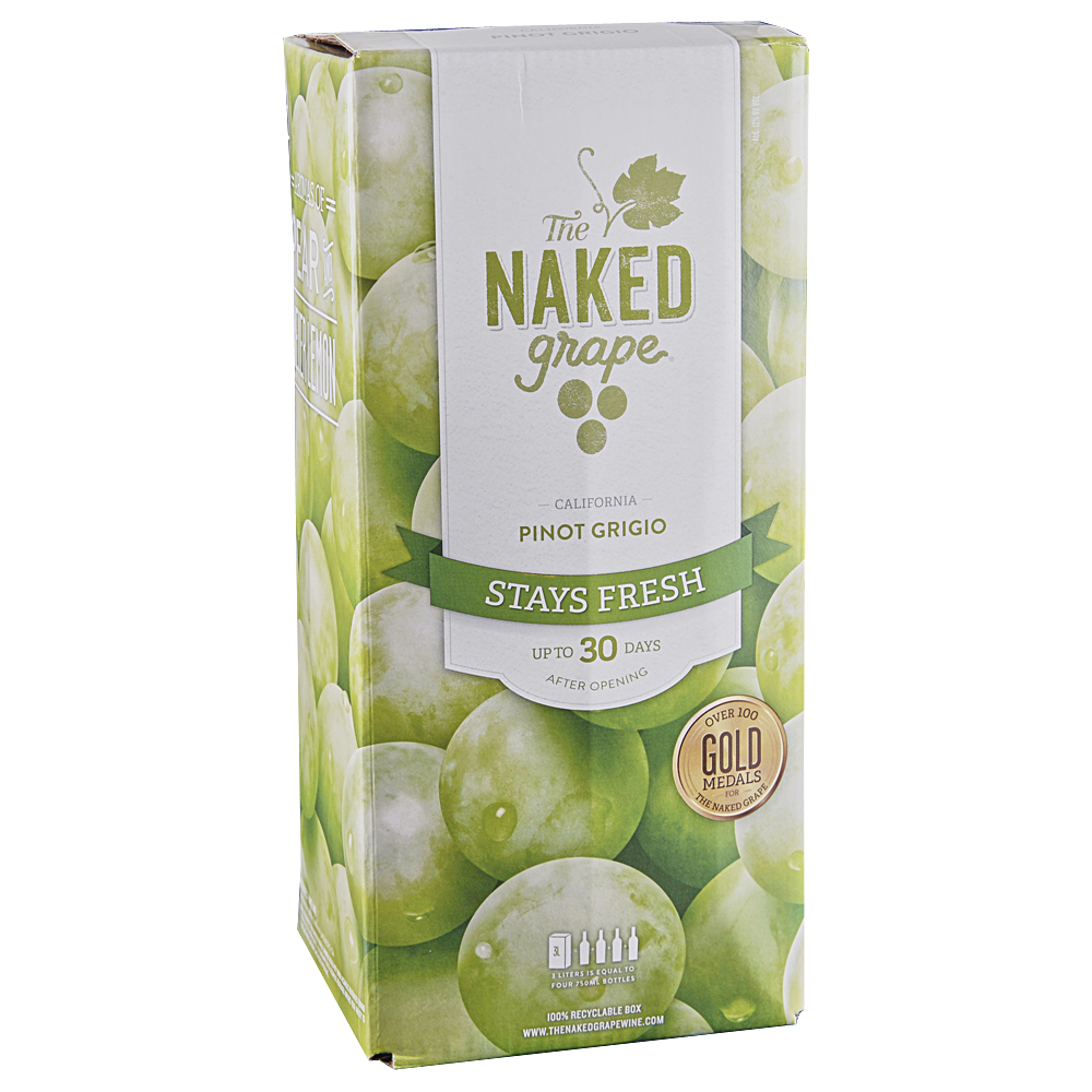 Kens wine review of NV The Naked Grape Pinot Grigio