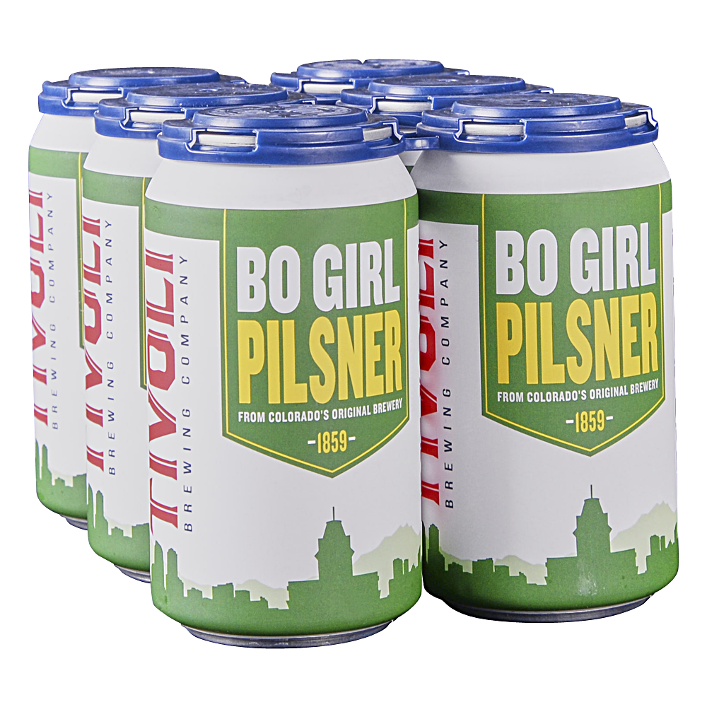 Tivoli Bohemian Girl Pilsner 6pk 12 oz Cans