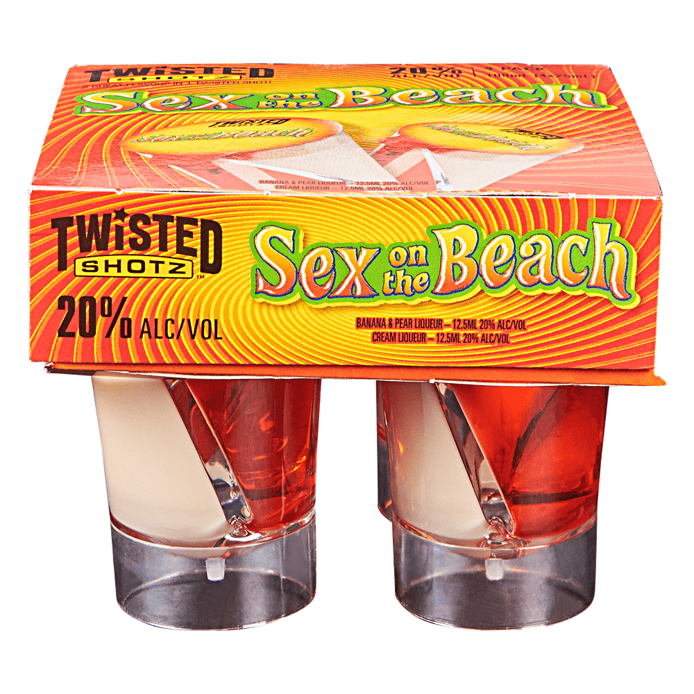 Shot of sex on the beach