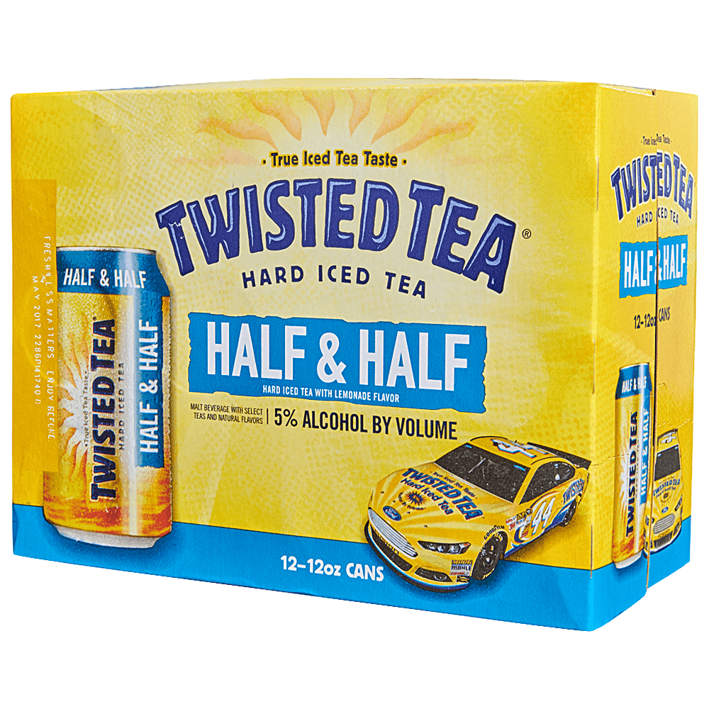 Applejack - Twisted Tea Half & Half 12pk 12 oz Cans