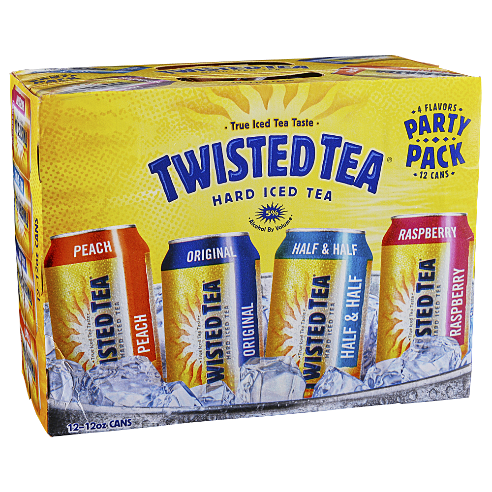 Applejack - Twisted Tea Variety 12pk 12 oz Cans