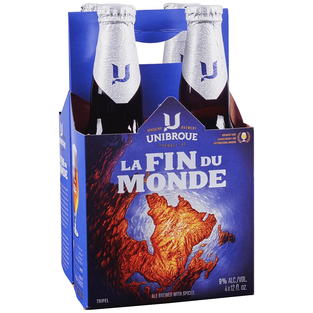 Applejack Unibroue La Fin Du Monde 4pk 12 Oz Btls