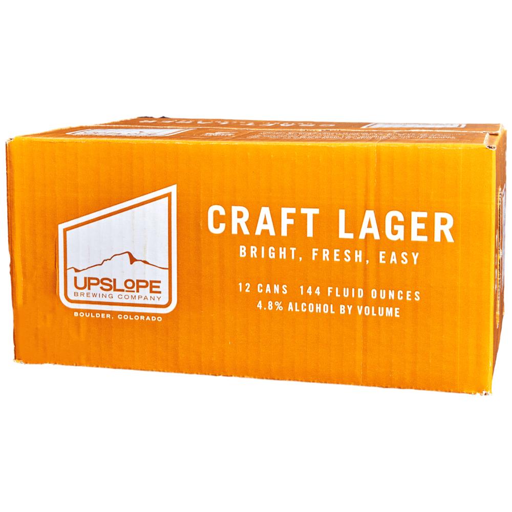 Upslope Craft Lager 12pk 12 oz Cans