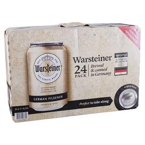 Warsteiner Suitcase 24pk 12 oz Cans