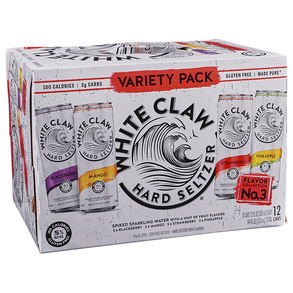 White Claw Variety #3 12pk 12 oz Cans