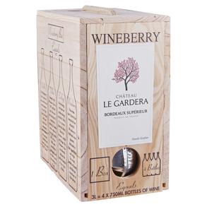 Wineberry Chateau Le Gardera Bordeaux Box 3.0 L