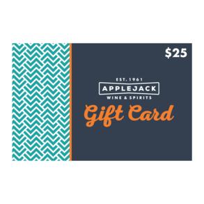 $25 Applejack E-Gift Card